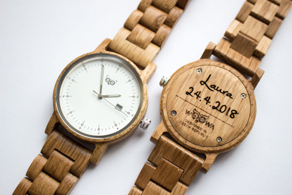 Drevené hodinky Bau Oak – Woowa  Drevené hodinky s českým dizajnom 8d23067137